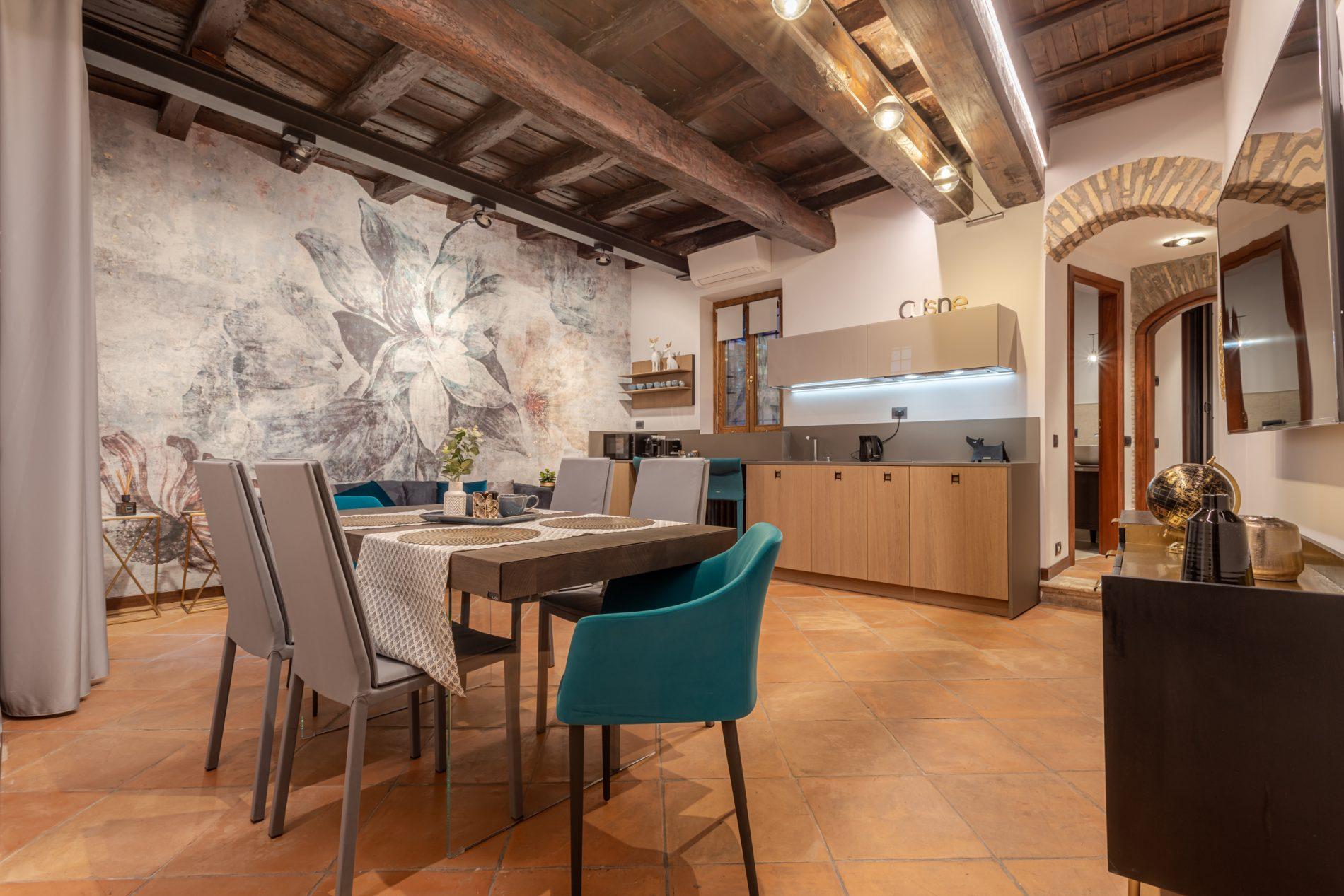 appartamento lusso vacanza San Simone Roma Italia